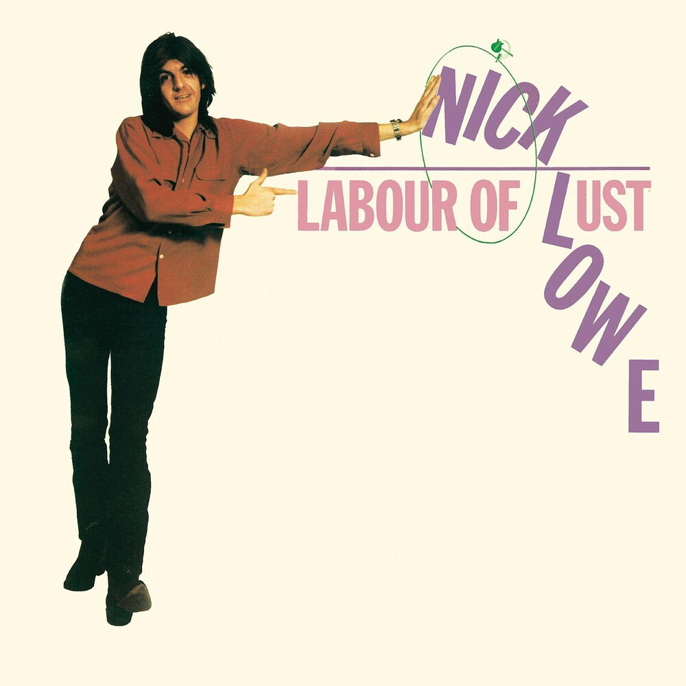 Nick Lowe - Labour Of Lust [Colored Vinyl] (Pnk)