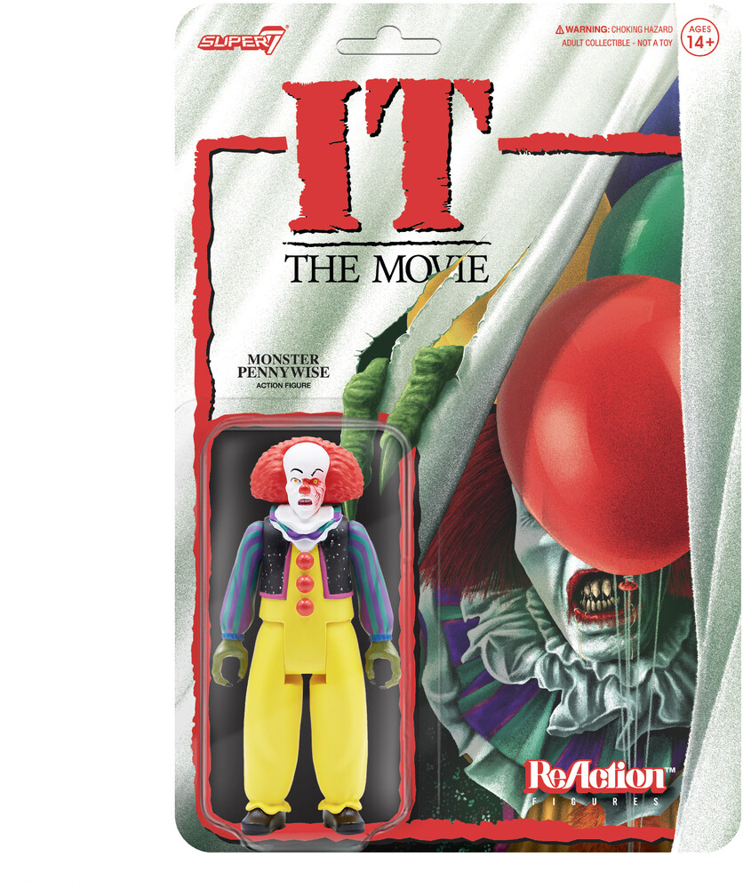 It Reaction - Pennywise (Monster) - It Reaction - Pennywise (Monster) (Afig) (Clcb)