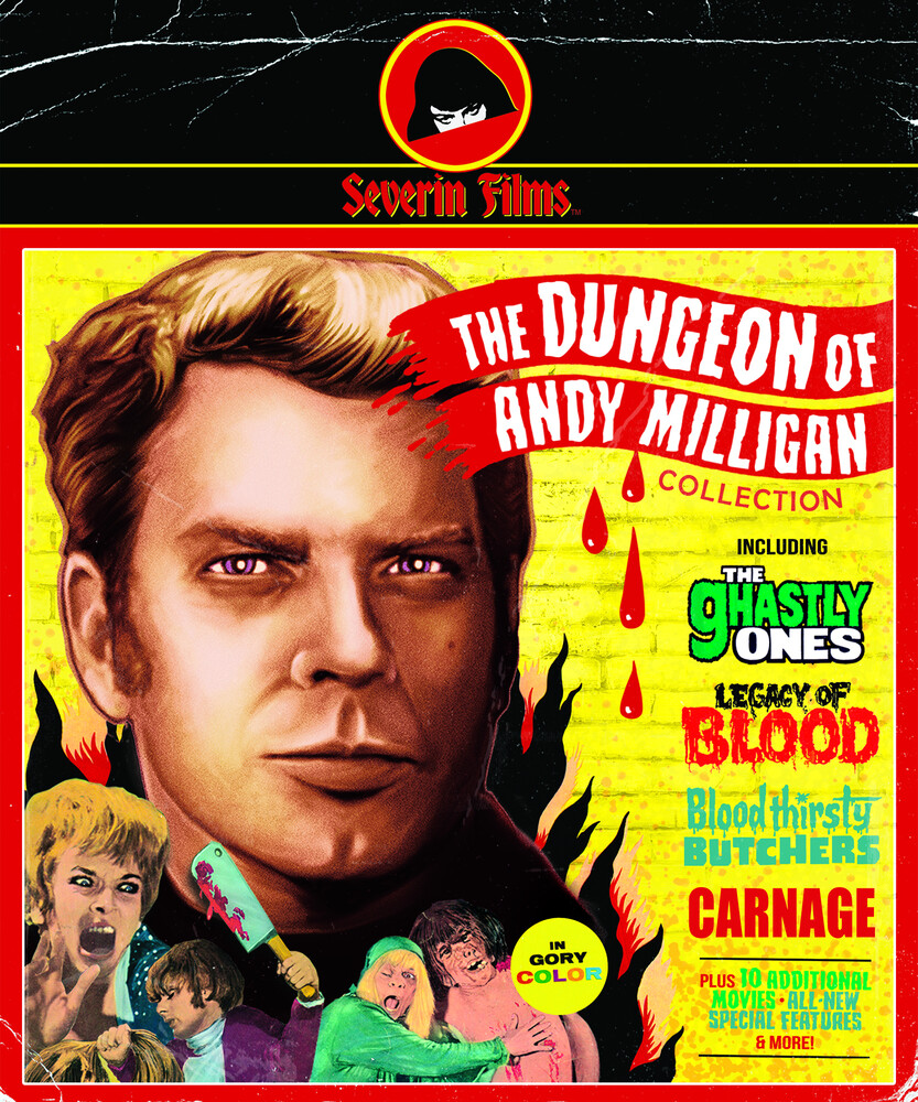 Dungeon of Andy Milligan Collection - Dungeon Of Andy Milligan Collection (9pc)