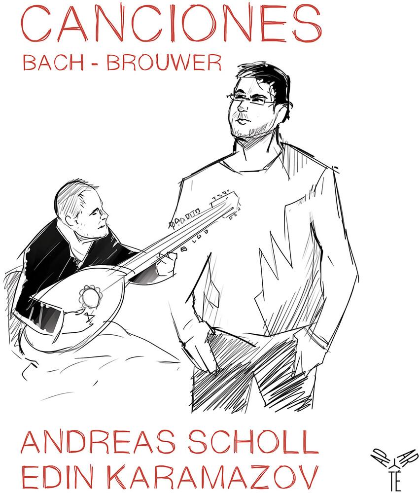 Andreas Scholl - Bach & Brouwer: Canciones