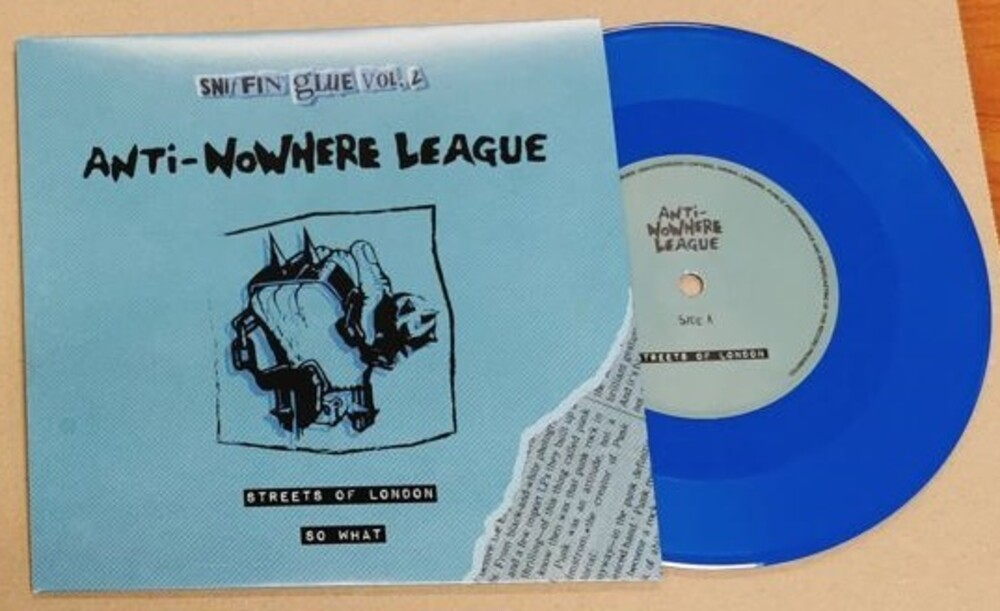 Anti No-Where League - Streets Of London [Colored Vinyl] (Hol)