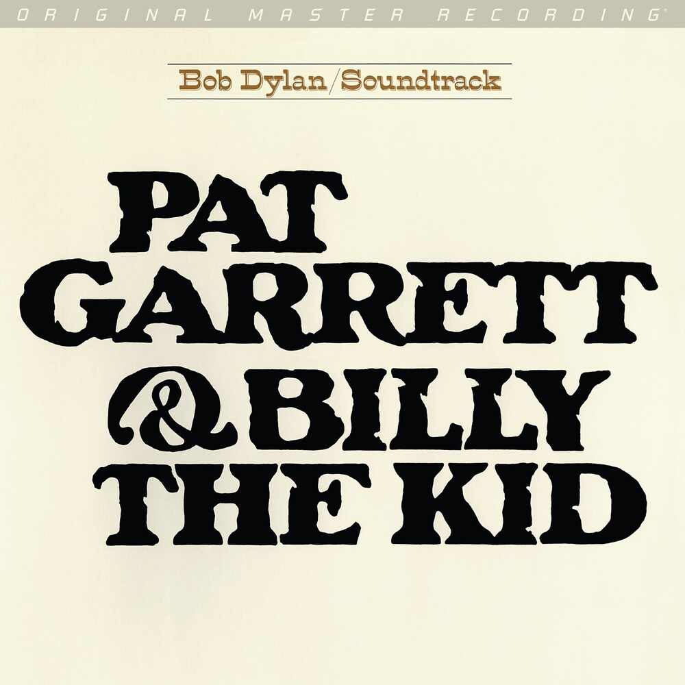 Bob Dylan Ltd Ogv - Pat Garrett & Billy The Kid (Original Soundtrack)