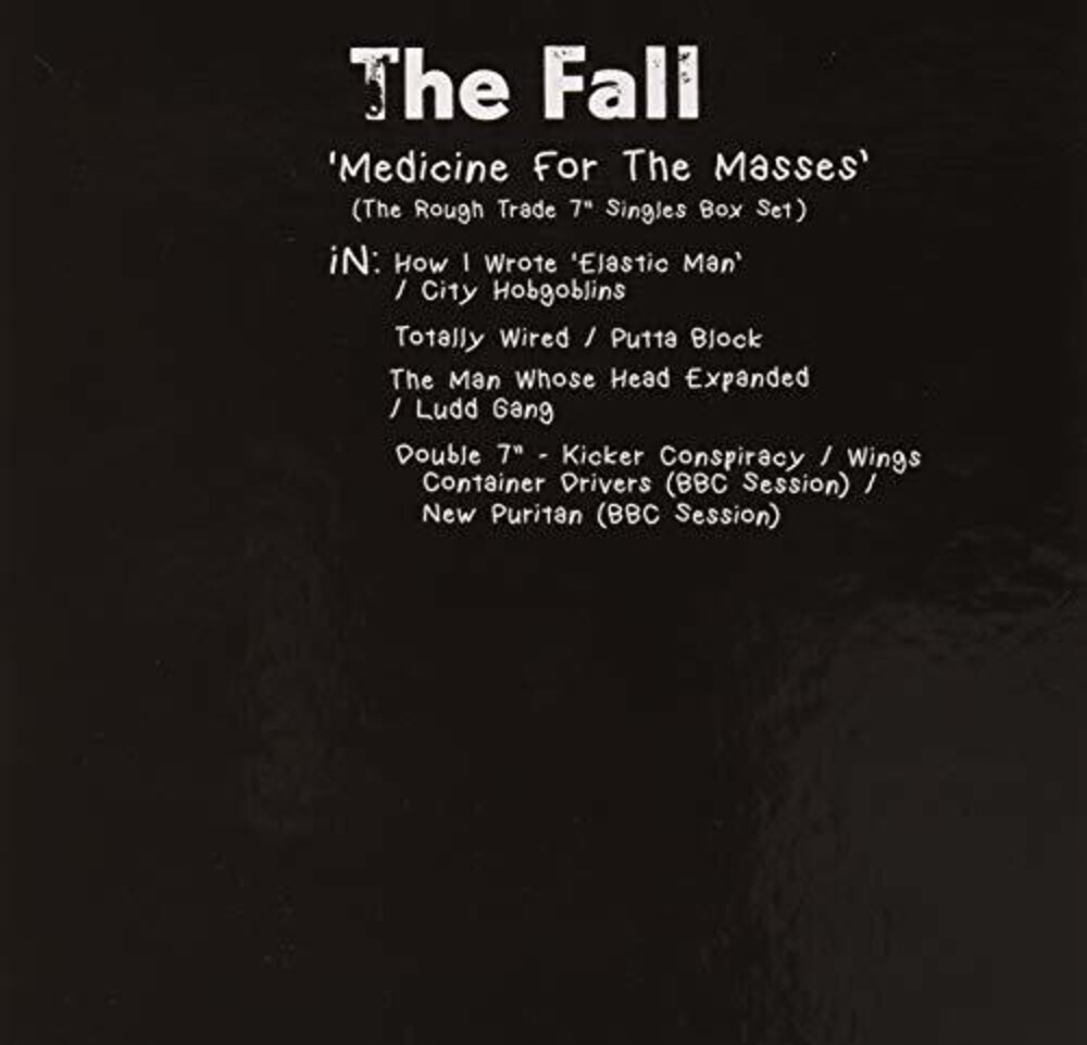 The Fall - Medicine For The Masses - Rough Trade 7 Singles [7in Box Set]