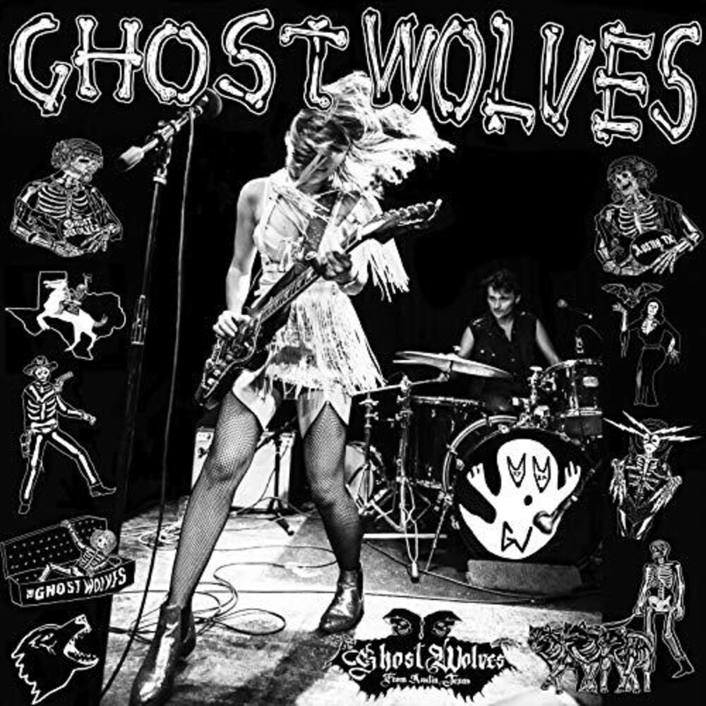 The Ghost Wolves - Crooked Cop / Fist & Day Will Follow The Dawn [Vinyl Single]