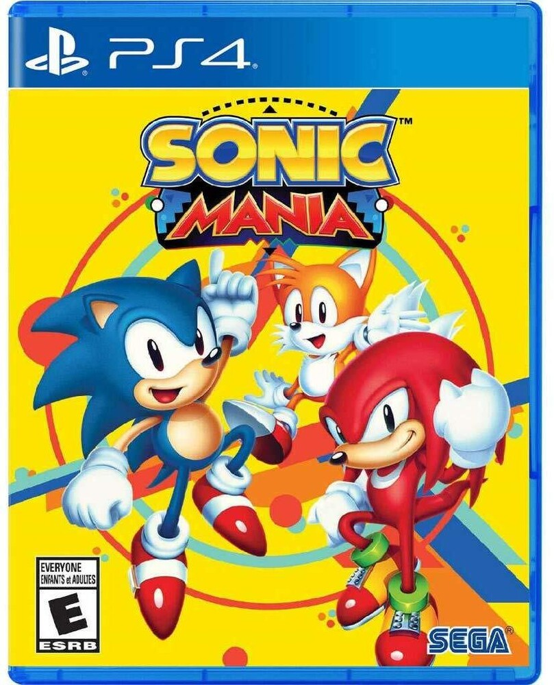 Ps4 Sonic Mania - Sonic Mania for PlayStation 4