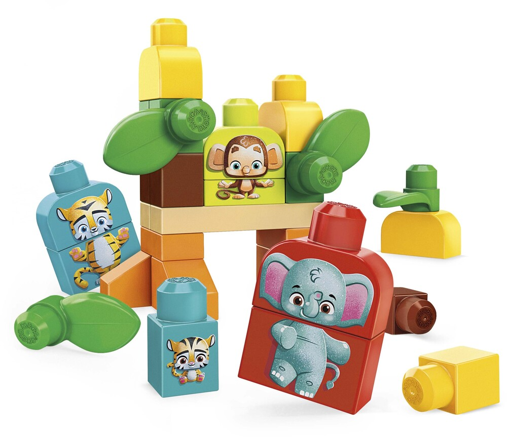 Mega Bloks - MEGA Brands - Eco-Friends, Safari Friends