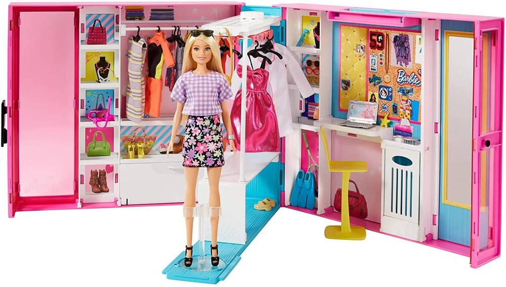 Barbie - Mattel - Barbie Fashionista Dream Closet, with Doll