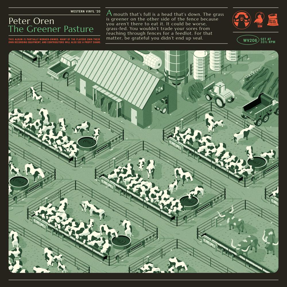 Peter Oren - The Greener Pasture (Color Vinyl)