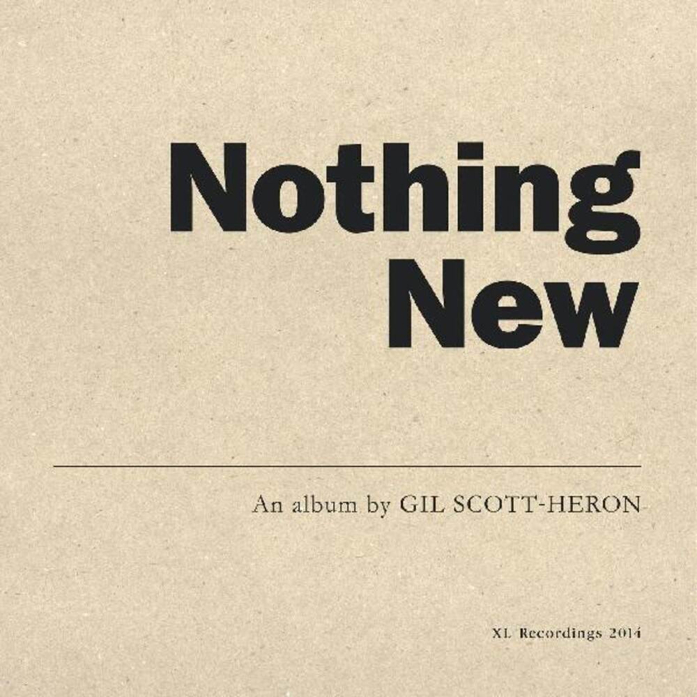 Gil Scott-Heron - Nothing New (Uk)