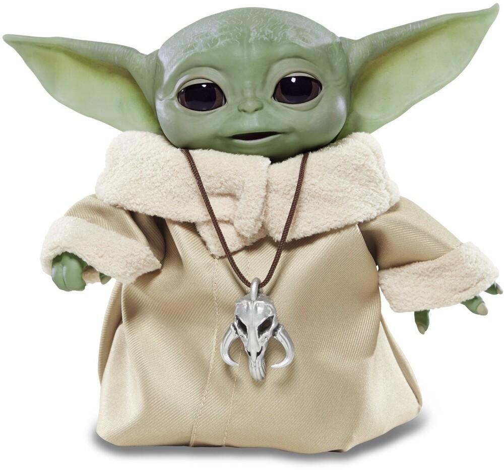 "Star Wars: Mandolorian - the Child Animatronic - Hasbro Collectibles - Star Wars Mandalorian The Child Animatronic with Pendant (""Baby Yoda"")"