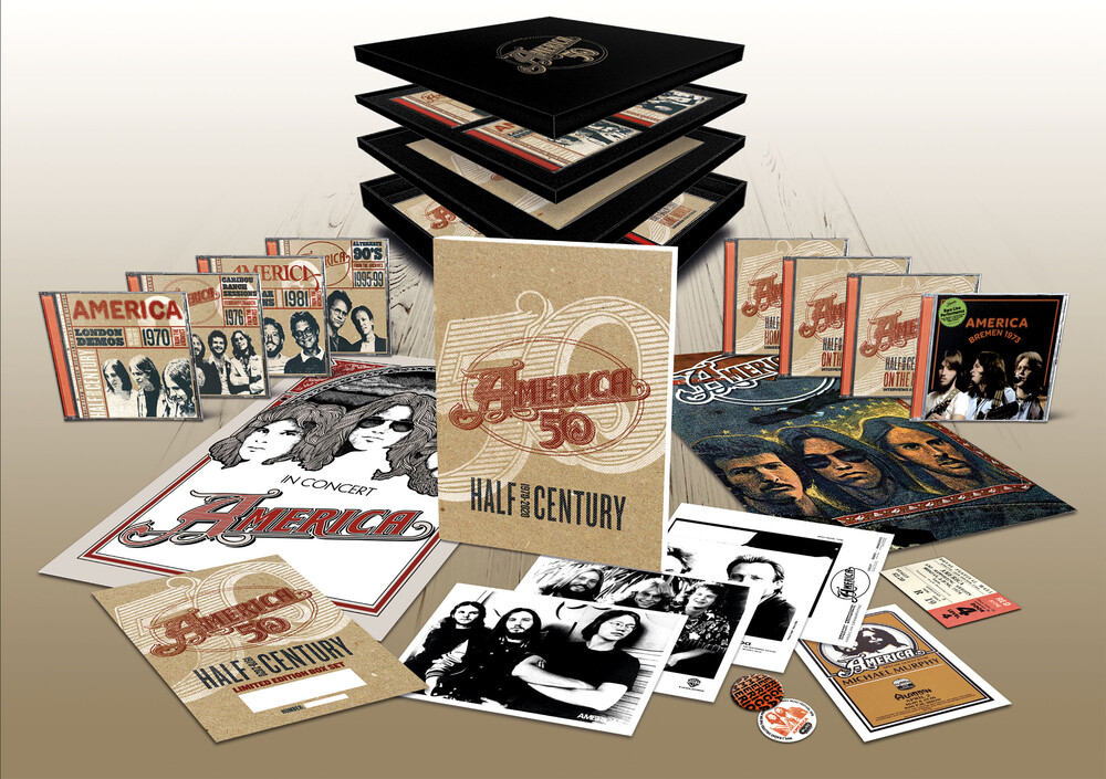 America - Half Century [Import Limited Edition 7CD+DVD Box Set]