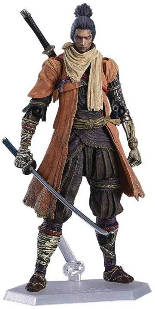 Good Smile Company - Good Smile Company - Sekiro Shadows Die Twice Sekiro Figma ActionFigure DX Version