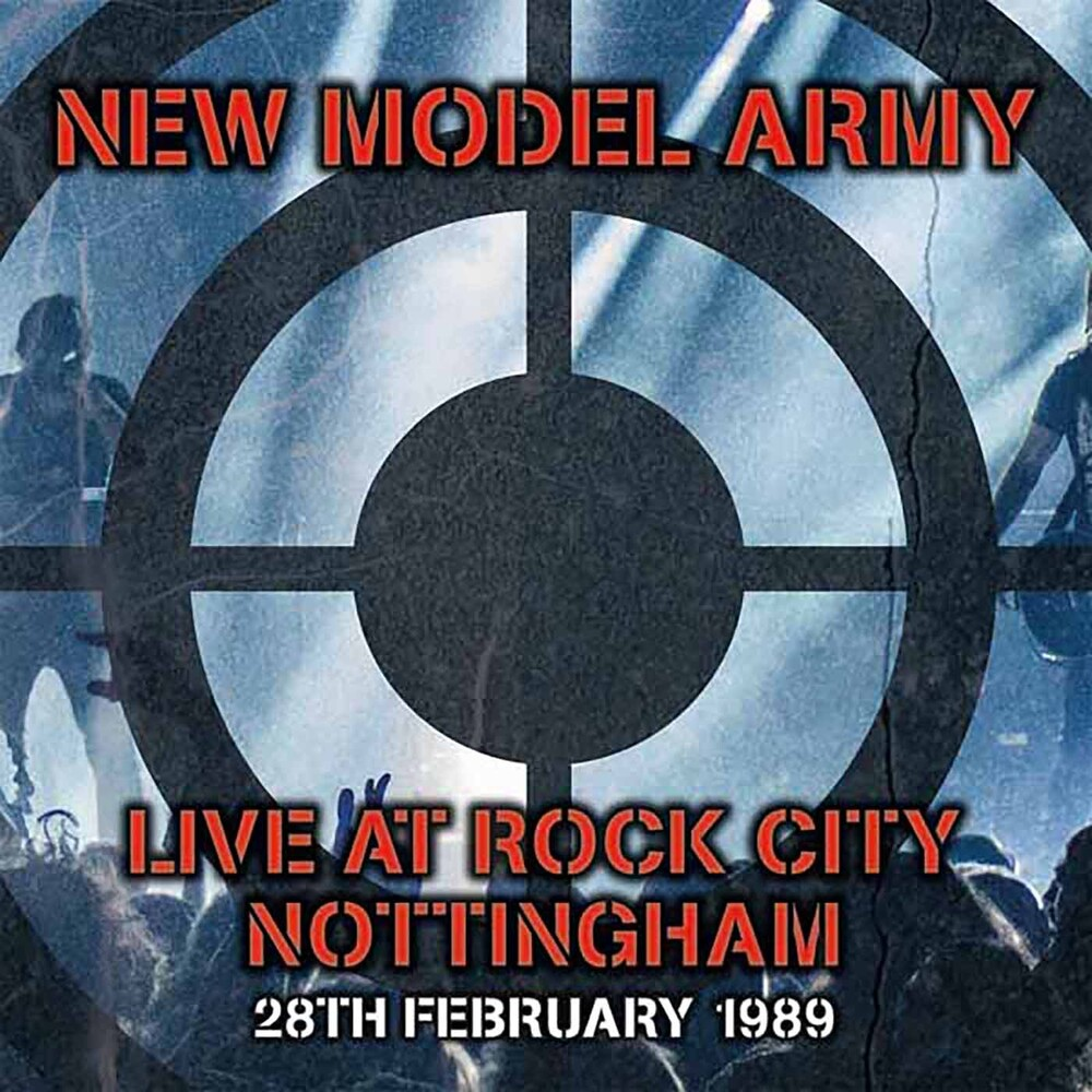 New Model Army - Live In Nottingham 1989 (Uk)