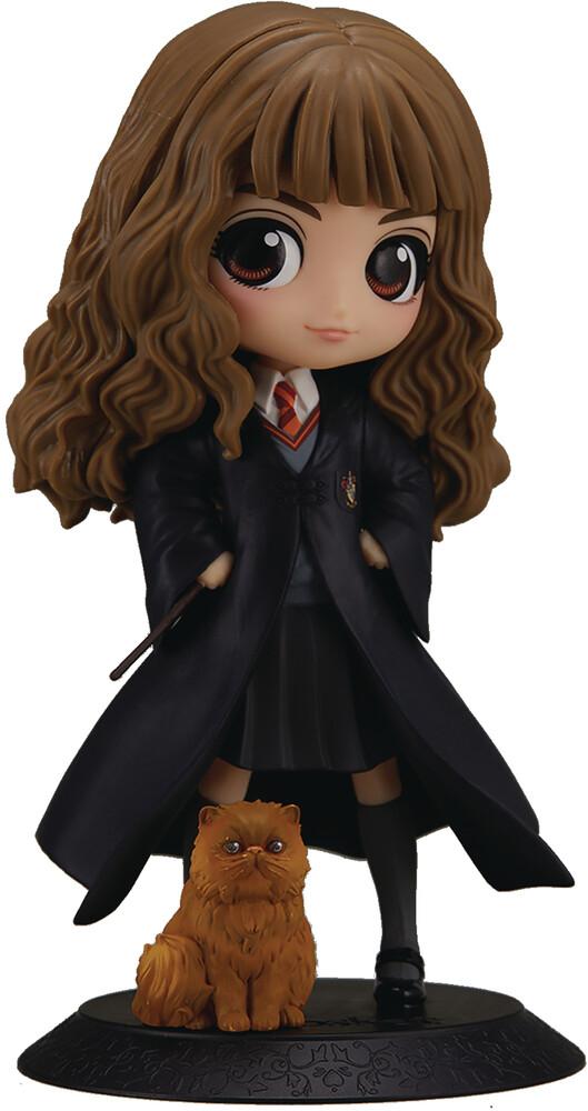 Banpresto - BanPresto - Harry Potter Hermione Granger with Crookshanks Q posketFigure