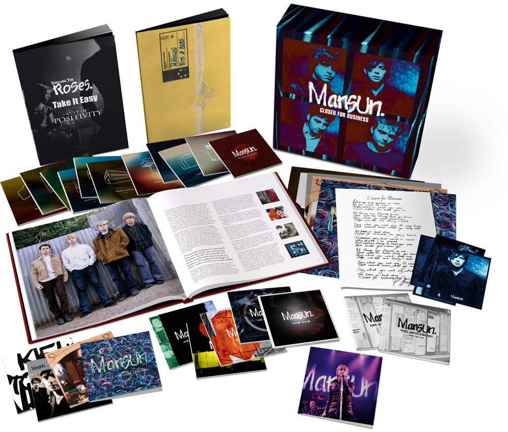 Mansun - Closed For Business: Ultimate Mansun Collection - 25th AnniversaryDeluxe Box Set (24CD+DVD & Book)