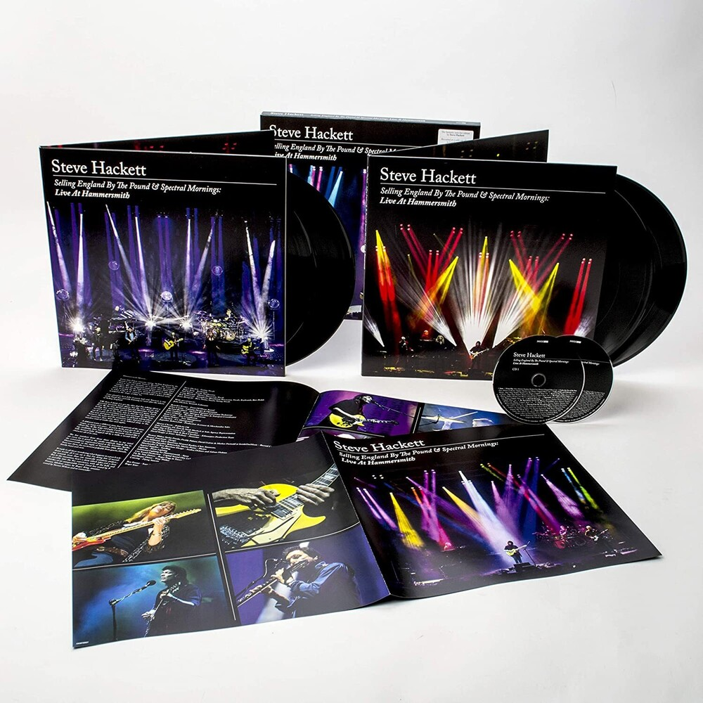 Steve Hackett - Selling England By The Pound & Spectral Mornings: Live at Hammersmith [Import Limited Edition 4LP/2CD Box Set]