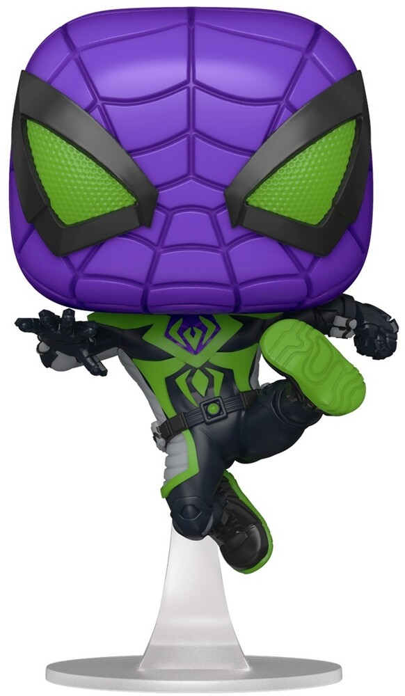 - FUNKO POP! Games: Marvel's Spider-Man Miles Morales Miles (Purple Reign)