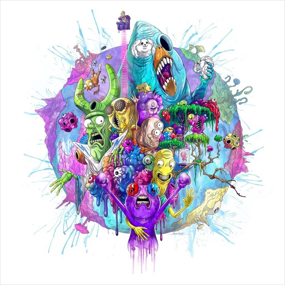 Asy Saavedra Blk Ogv - Trover Saves The Universe / O.S.T. (Blk) [180 Gram]