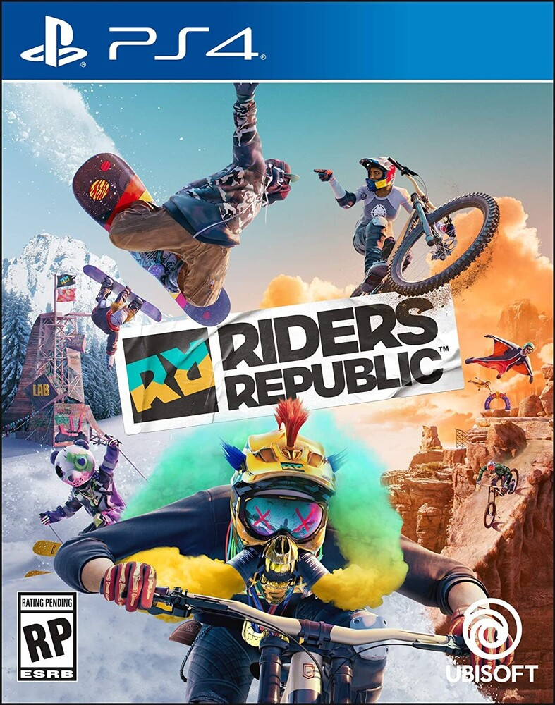 Ps4 Riders Republic - Limited Edition - Ps4 Riders Republic - Limited Edition