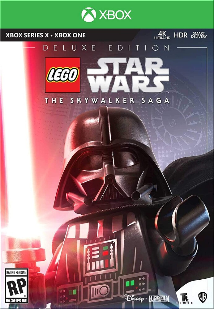 Xb1 Lego Star Wars: The Skywalker Saga - Deluxe Ed - LEGO Star Wars: The Skywalker Saga - Deluxe Edition for Xbox Series X and Xbox One