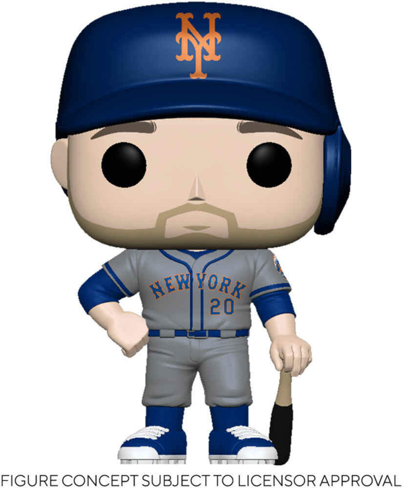 Funko Pop! MLB: - FUNKO POP! MLB: Mets- Pete Alonso (Road Uniform)