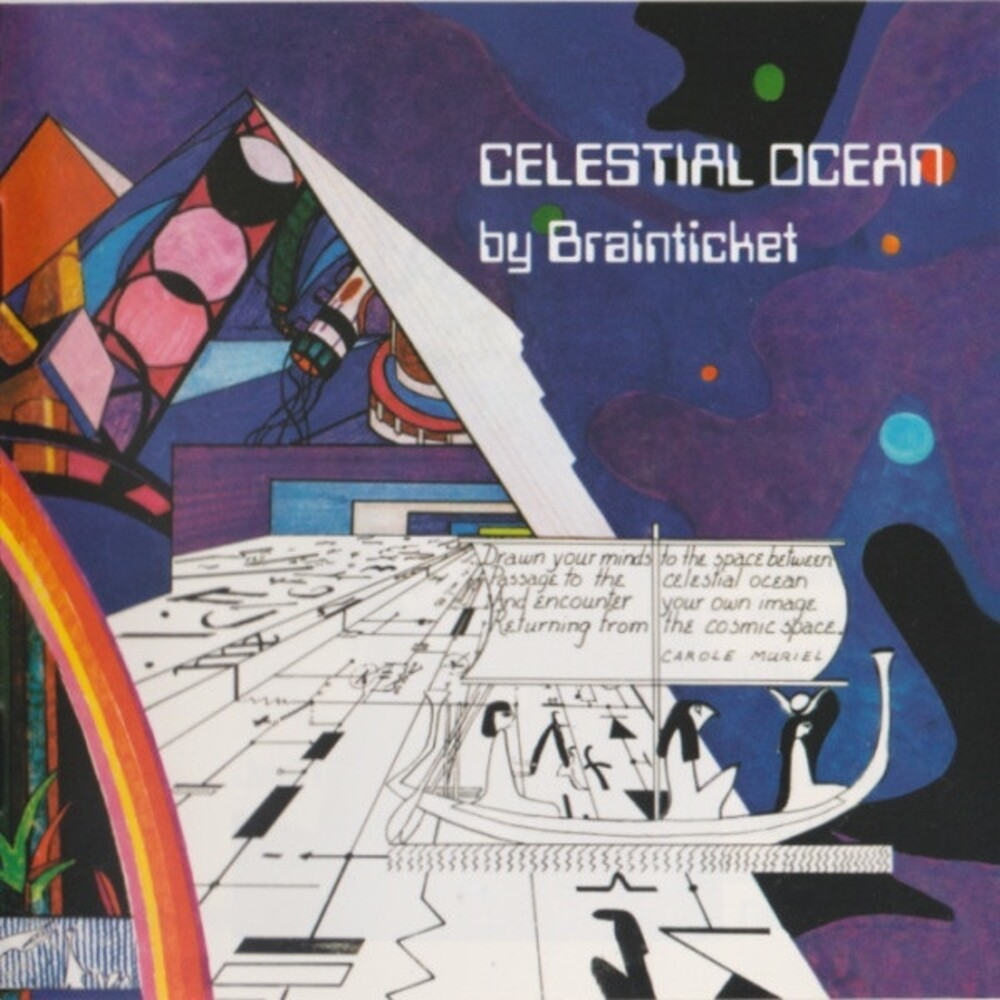Brainticket - Celestial Ocean [Clear Vinyl]