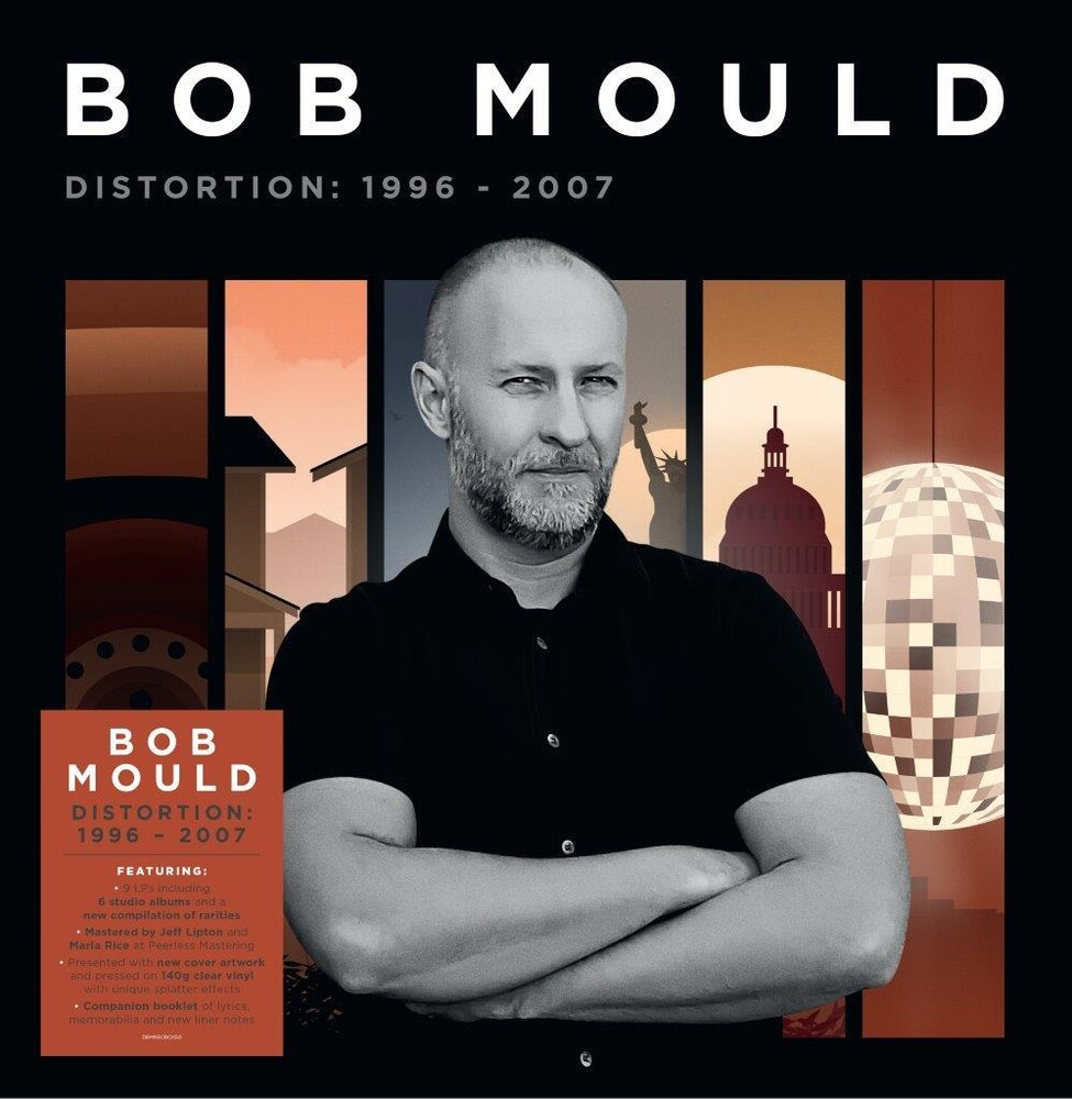 Bob Mould - Distortion: 1996-2007 [140-Gram Clear Splatter Vinyl]
