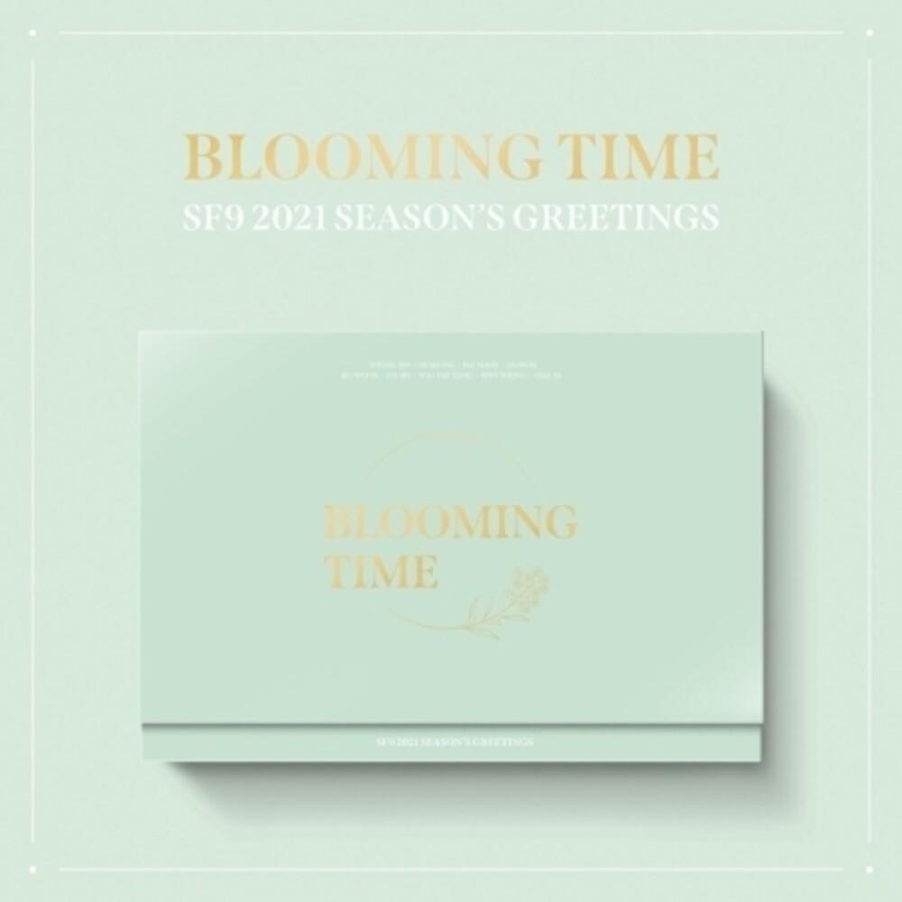Sf9 - 2021 Season's Greetings (incl. Desk Calendar, 148pg Diary, 80pgConcept Photobook, 12pc Postcard Calendar Set, Message Card, ARPh