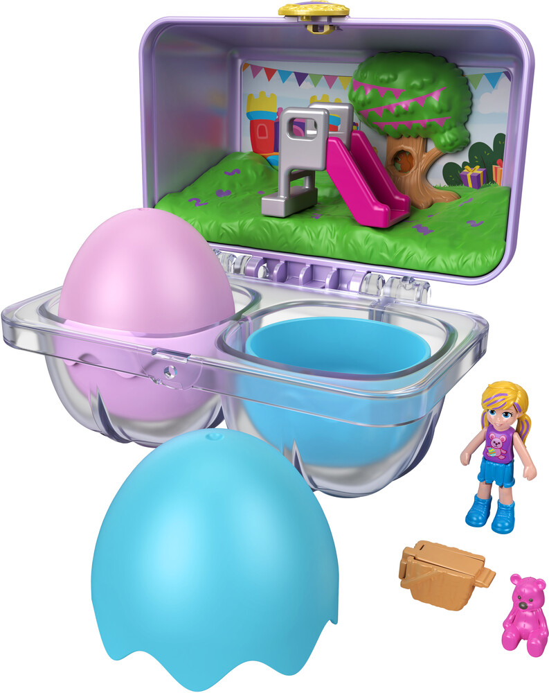 Polly Pocket - Mattel - Polly Pocket Spring Egg Micro Assortment