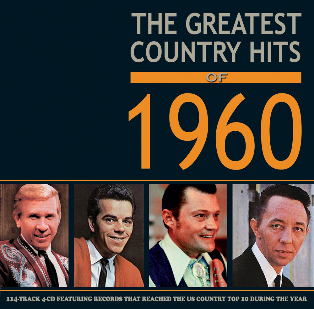 Greatest Country Hits Of 1960 / Various - Greatest Country Hits Of 1960 (Various Artists)