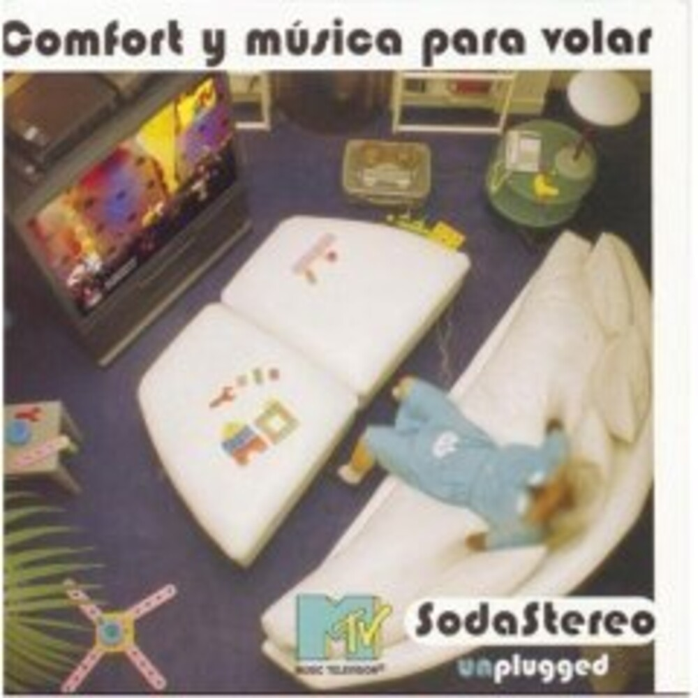 Soda Stereo - Comfort Y Musica Para Volar: Mtv Unplugged [Clear Vinyl]