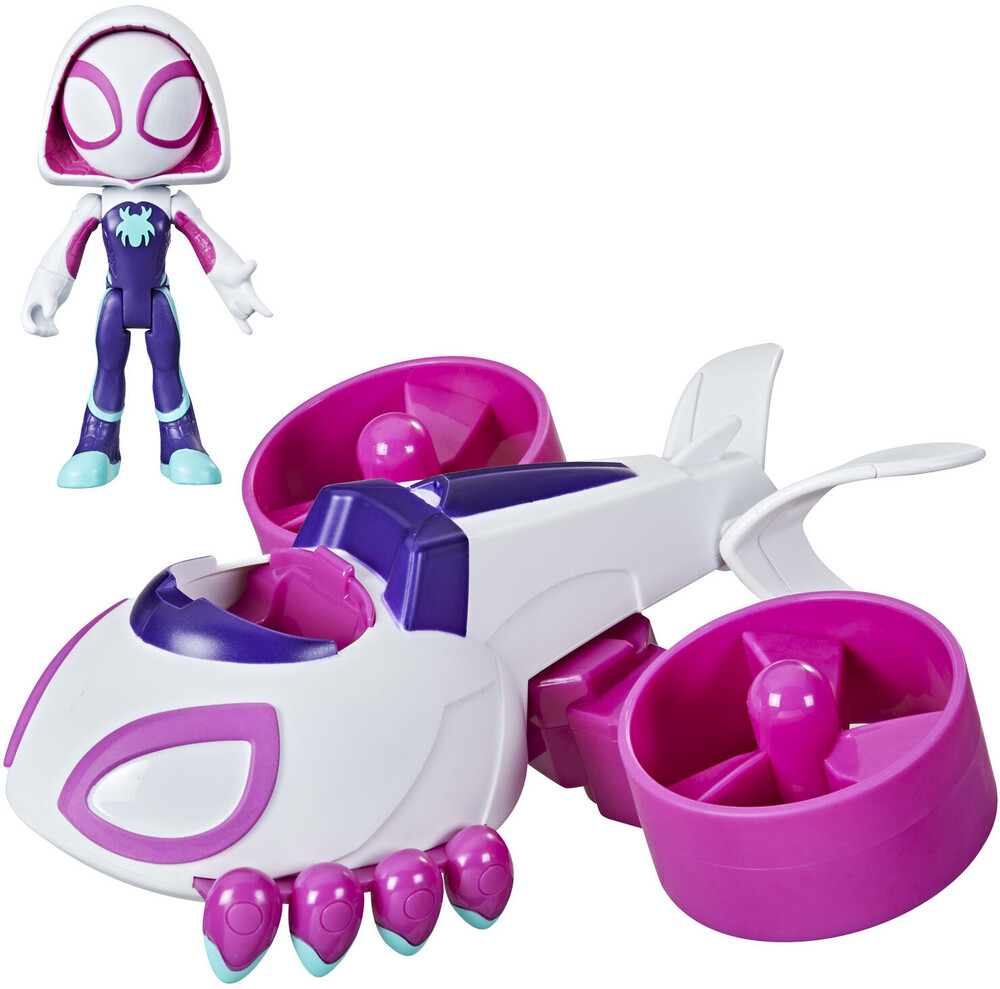 Saf 2 in 1 Copter Cycle - Hasbro Collectibles - Spidey And His Amazing Friends 2 In 1 CopterCycle
