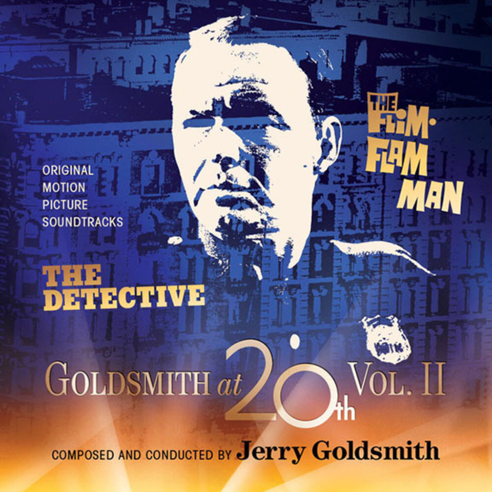 Jerry Goldsmith  (Ita) - Goldsmith at 20th, Volume 2: The Detective / The Flim-Flam Man (Original Motion Picture Soundtracks)