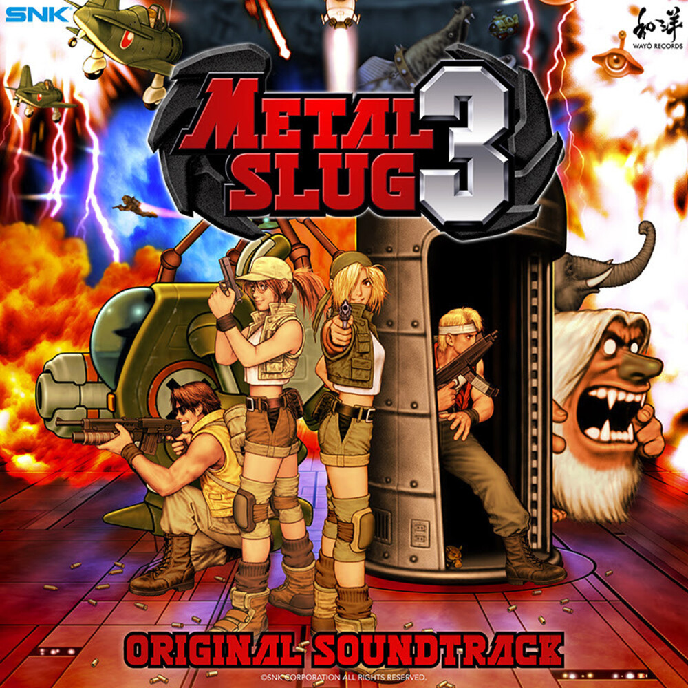 Snk Sound Team (Colv) - Metal Slug 3 / O.S.T. (Splatter Vinyl) [Colored Vinyl]