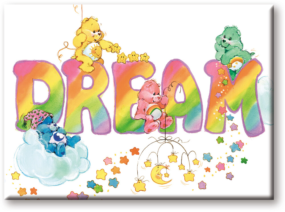 Care Bears Dream 2.5 X 3.5 Flat Magnet - Care Bears Dream 2.5 x 3.5 Flat Magnet