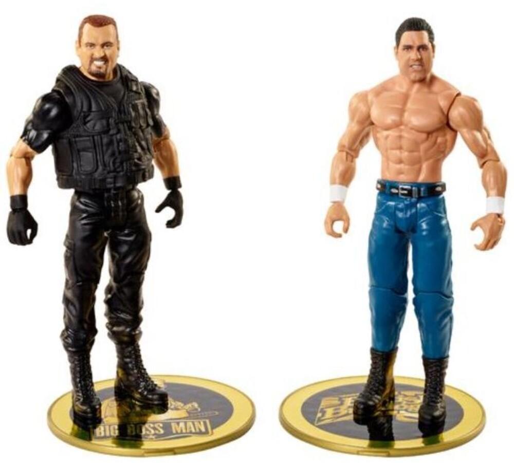 WWE - Mattel Collectible - WWE Basic Battle Packs: British Bulldog vs. Big Boss Man