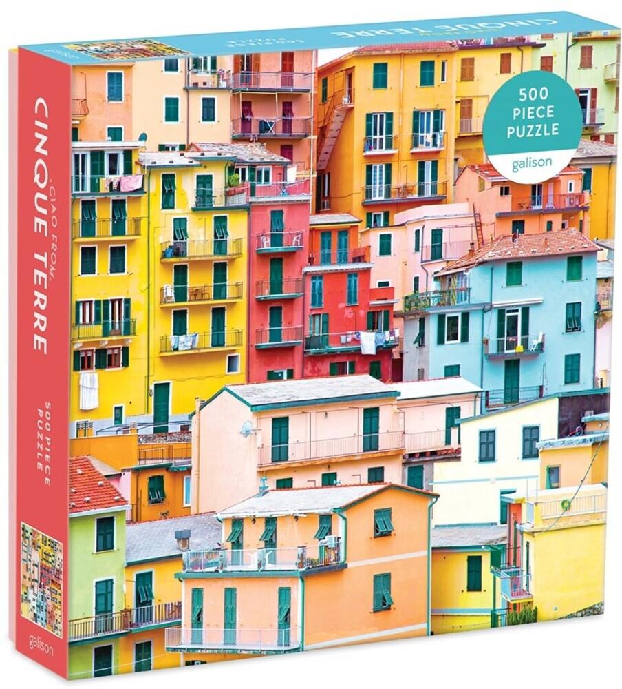 - Ciao from Cinque Terre 500 Piece Puzzle