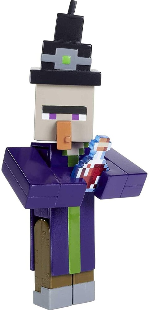 - Mattel Collectible - Minecraft 3.25 Witch