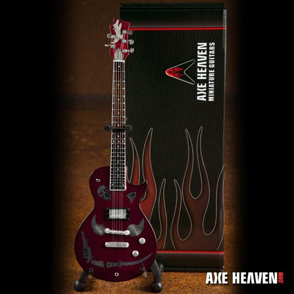 - Keith Richards 1981 Zemaitis Macabre Mini Guitar