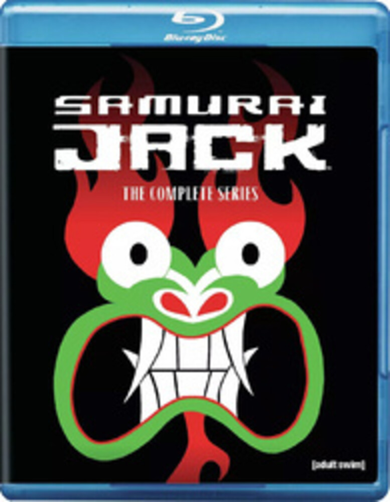 - Samurai Jack: Complete Series (5pc) / (Box Rpkg)