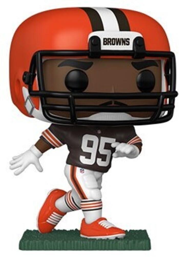 Funko Pop! NFL: - Browns- Myles Garrett (Home Uniform) (Vfig)