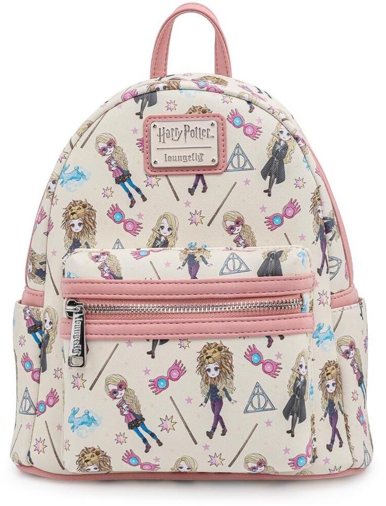 Loungefly Harry Potter: - Luna Lovegood All Over Print Mini Backpack (Back)