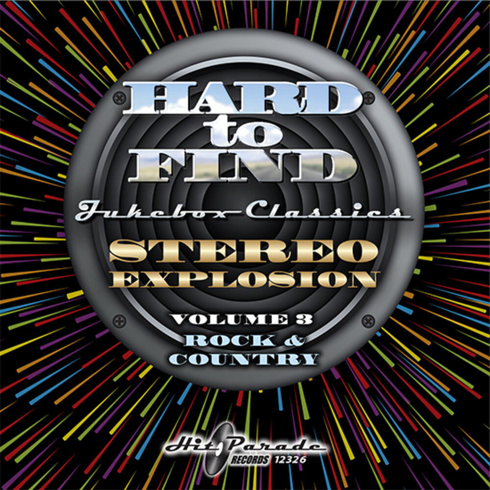 Hard To Find Jukebox: Stereo Explosion 3 / Various - Hard To Find Jukebox: Stereo Explosion 3 / Various