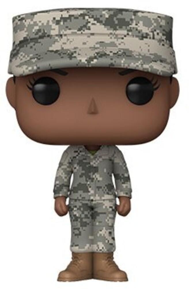 Funko Pop! Millitary: - Army Female - A (Vfig)