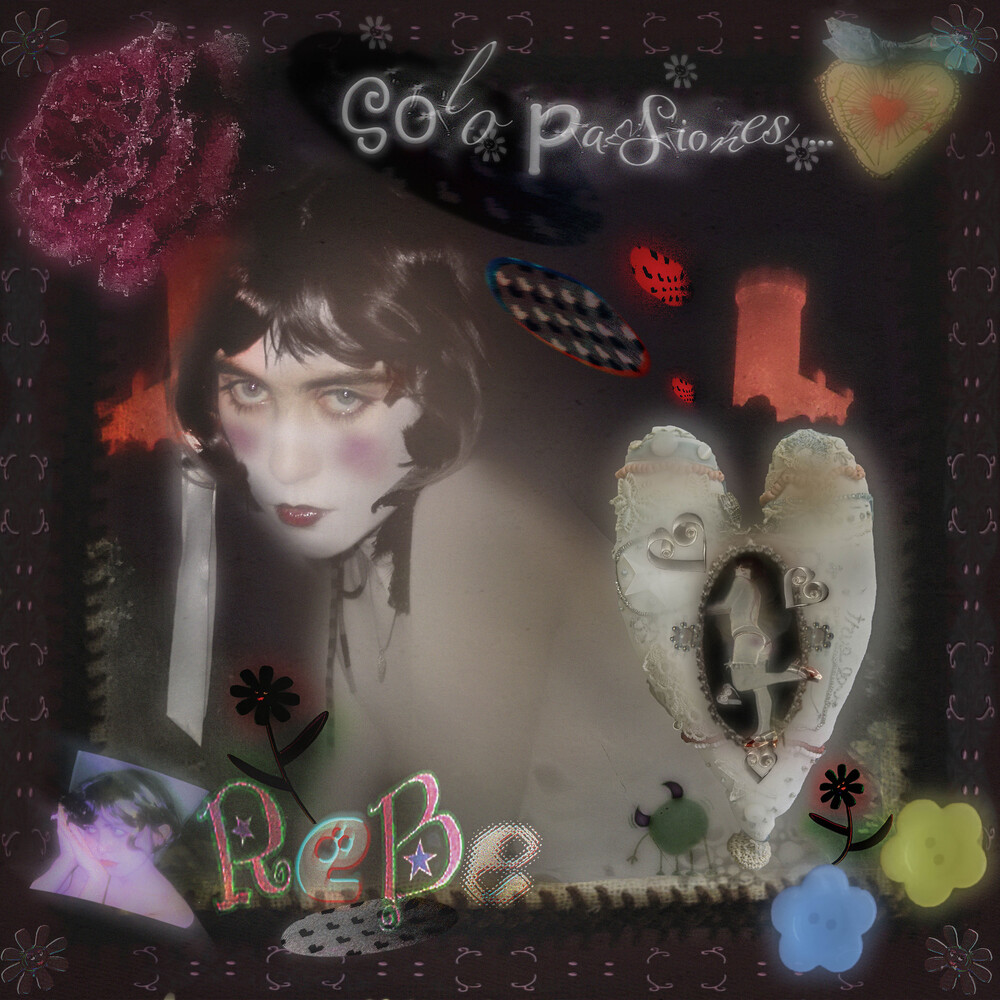 Rebe - Solo Pasiones... (10in) [Colored Vinyl] (Grn) [Limited Edition] [Download Included]