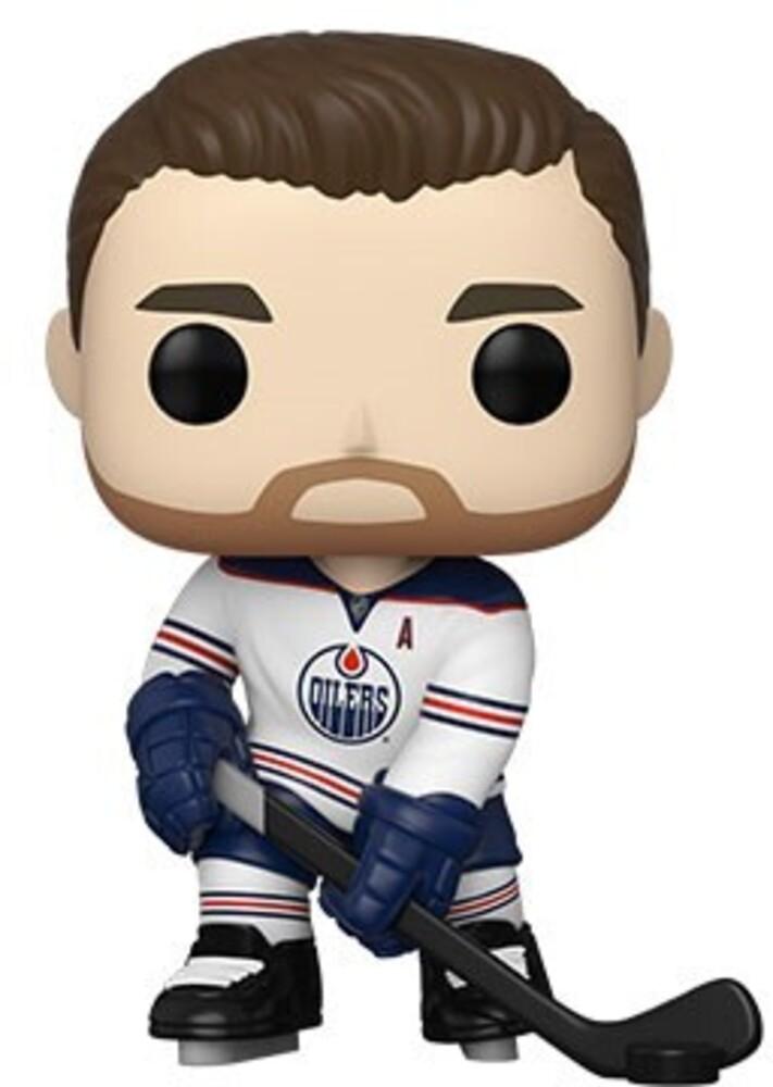 Funko Pop! NHL: - Oilers- Leon Draisaitl (Road Uniform) (Vfig)