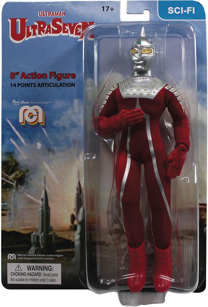 - Mego Sci-Fi Ultraman Ultraseven 8in Af (Afig)