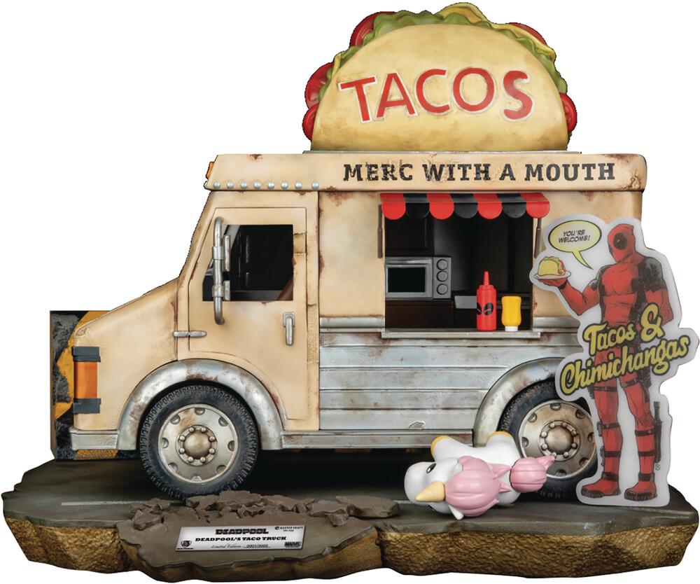 - Marvel Comics Mc-036 Deadpools Taco Truck Statue (