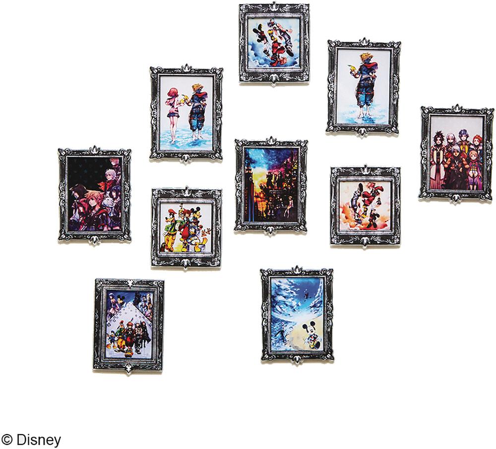 - Kingdom Hearts Acrylic Magnet Gallery V3 10pc Bmb