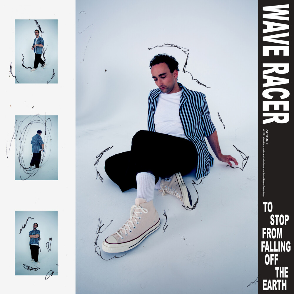 Wave Racer - To Stop From Falling Off The Earth (Blue Vinyl)
